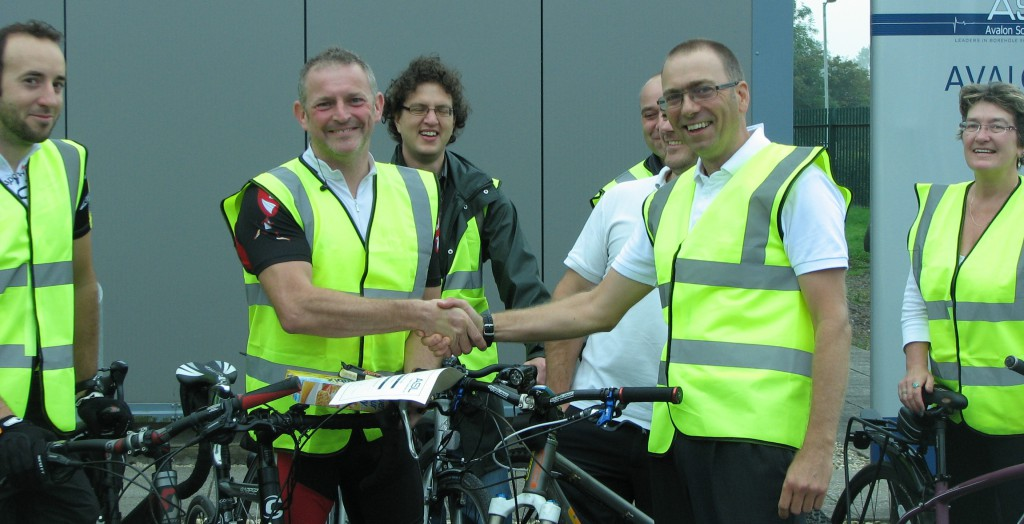 Cycle to Work Aidan 70mile award